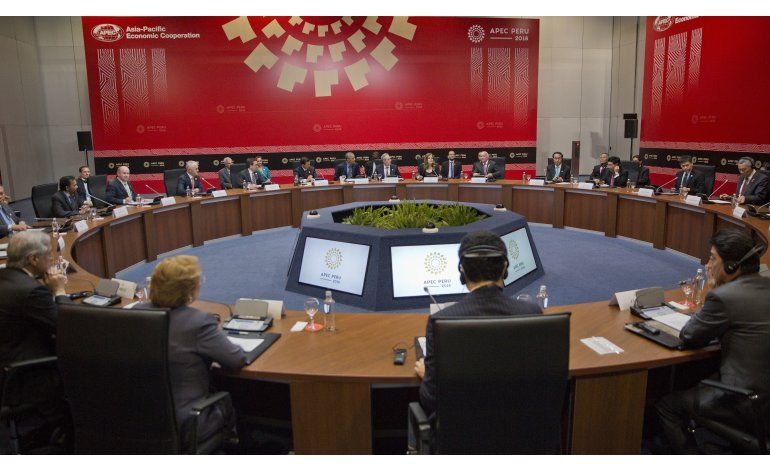 China promueve el libre comercio en cumbre de APEC