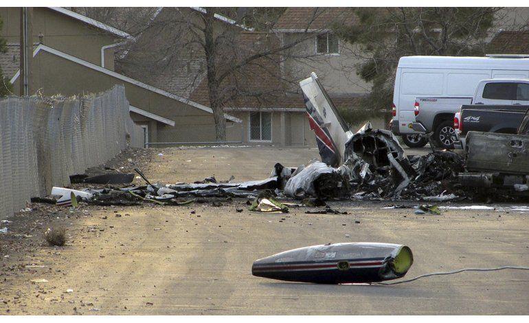 Avioneta ambulancia se estrella en Nevada; hay 4 muertos