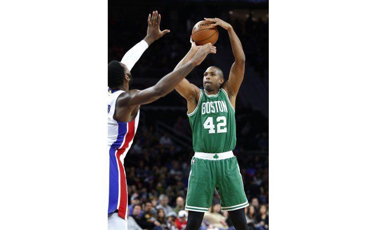 Horford da la victoria  a Celtics sobre Pistons