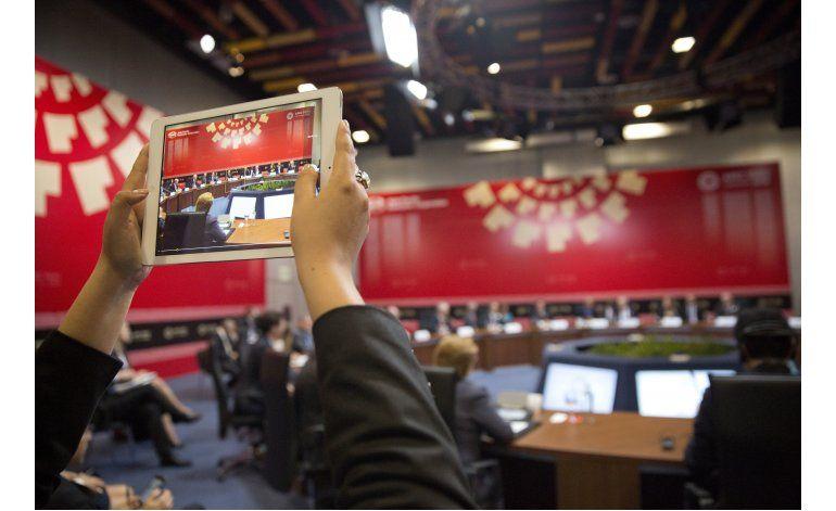 APEC: Trabajo incómodo de la prensa