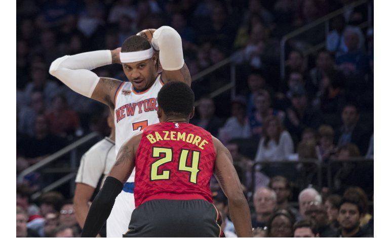 Anthony suma 31 puntos en 4to triunfo seguido de NY en casa