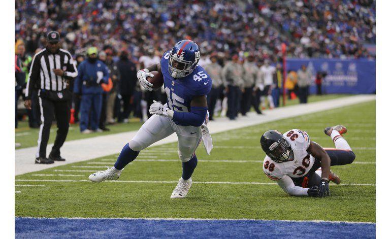 Manning lanza 2 touchdowns en 5to triunfo en fila de Giants