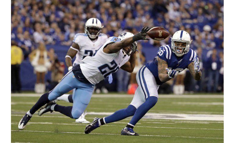 Colts toman temprana ventaja para derrotar a Titans