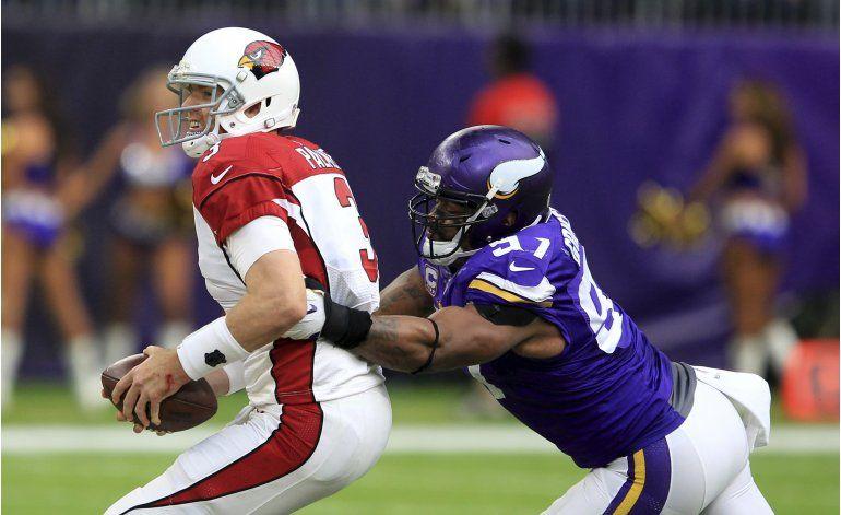 Luce defensiva de Vikings en triunfo de 30-24 ante Cardinals