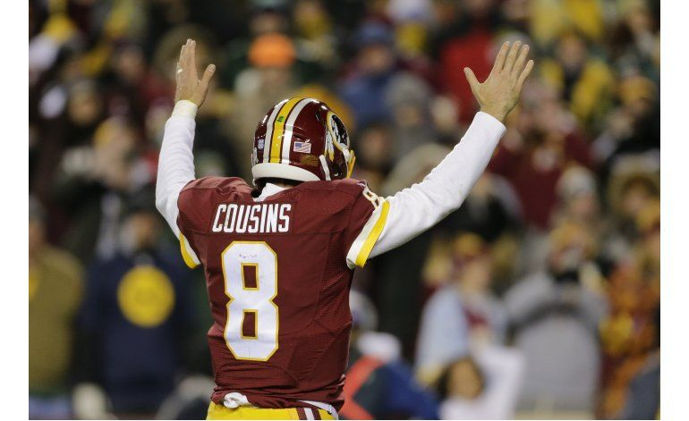Cousins y Redskins propinan nueva paliza a Packers