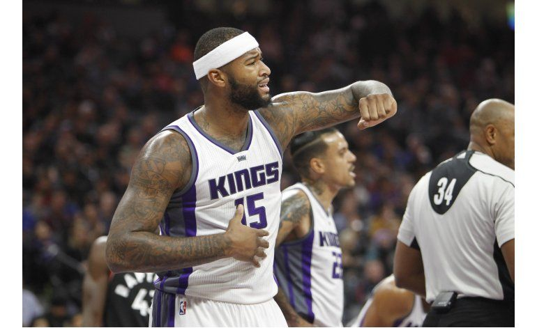 Gay anota 23 puntos, Kings derrotan a Raptors 102-99