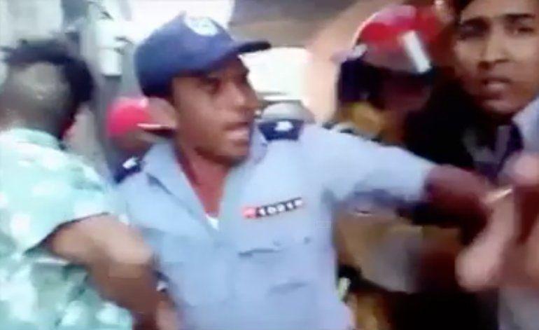 Golpea a su madre e incendia su casa de La Habana