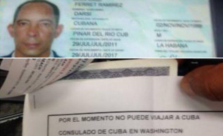 Niegan entrada a Cuba a disidentes