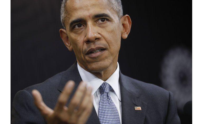 Análisis AP: Obama se muestra sereno sobre Trump