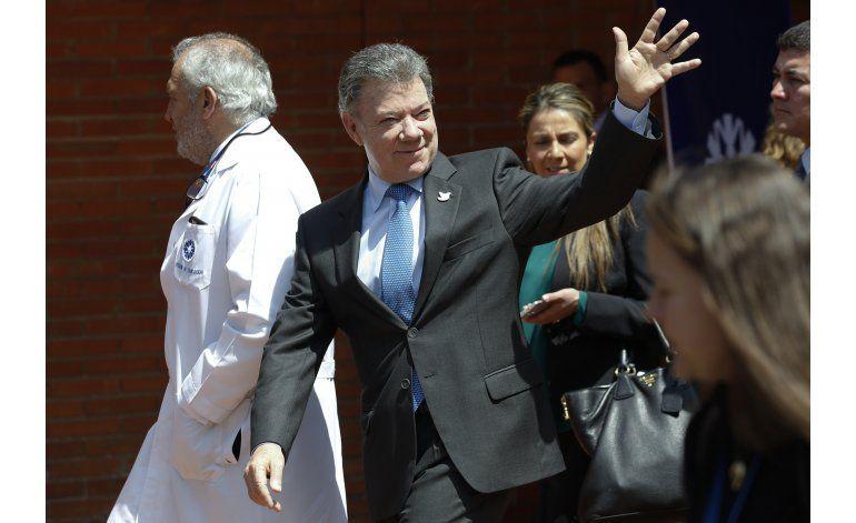 Nuevos exámenes descartan cáncer de presidente de Colombia