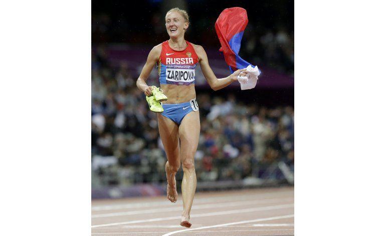 Medallista rusa de Londres 2012 pierde oro tras antidopaje
