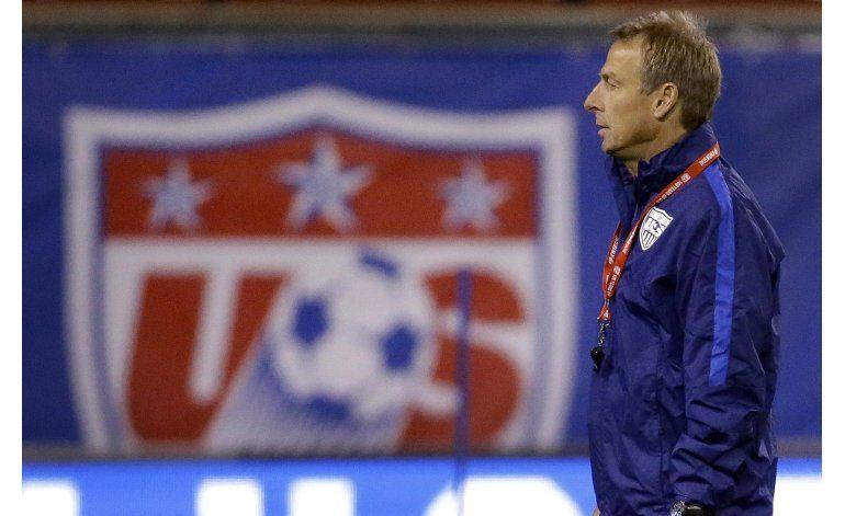 EEUU cesa a su técnico Jurgen Klinsmann