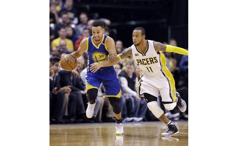 Warriors aprovechan desgaste de Pacers al ganar 120-83