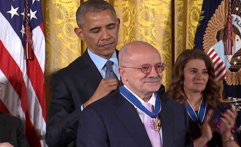 Obama entrega medalla presidencial de la libertad a Eduardo Padrón