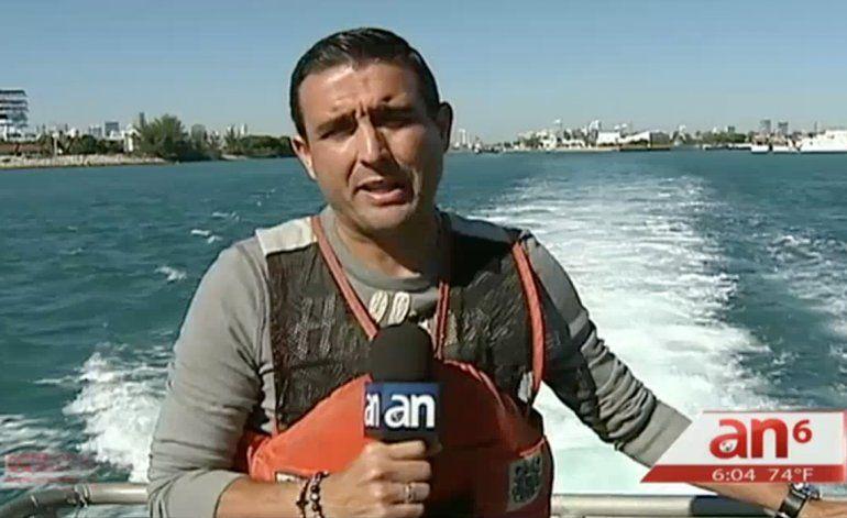 América Noticias junto a la Guardia Costera sale a recorrer el área donde José Fernandez perdió la vida