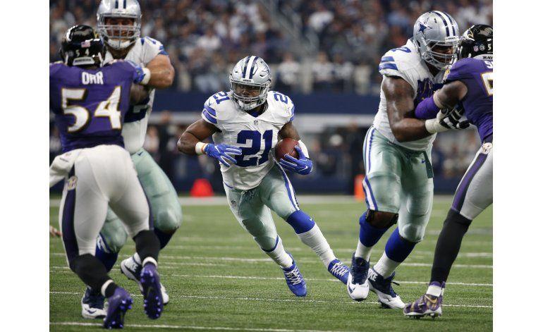 Elliott supera las altas expectativas con Cowboys