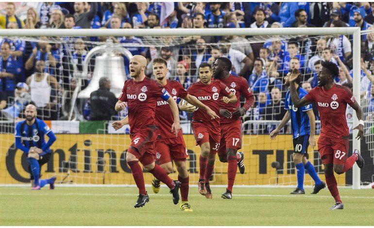 MLS: Montreal vence a Toronto, pero no hay definido