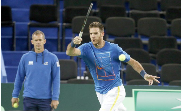 Del Potro-Cilic, rivales y amigos en la final de Copa Davis