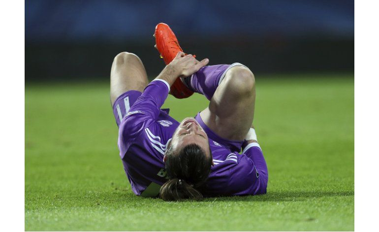 Bale probablemente será baja para Real Madrid-Barcelona