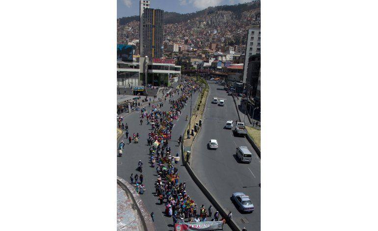 Protestas aumentan en La Paz por escasez de agua