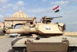 las fuerzas antiterroristas anunciaron que tienen rodeada la ciudad de mosul, bastion del estado islamico