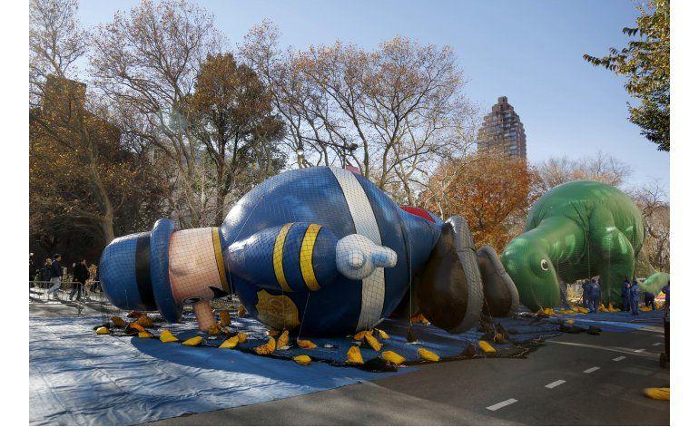 Intensa seguridad en el desfile de Acción de Gracias en NY