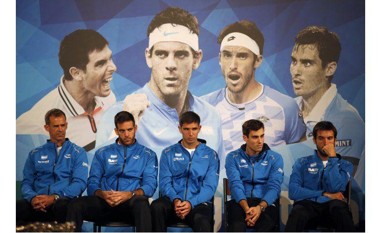 Delbonis abrirá por Argentina en la final de Copa Davis