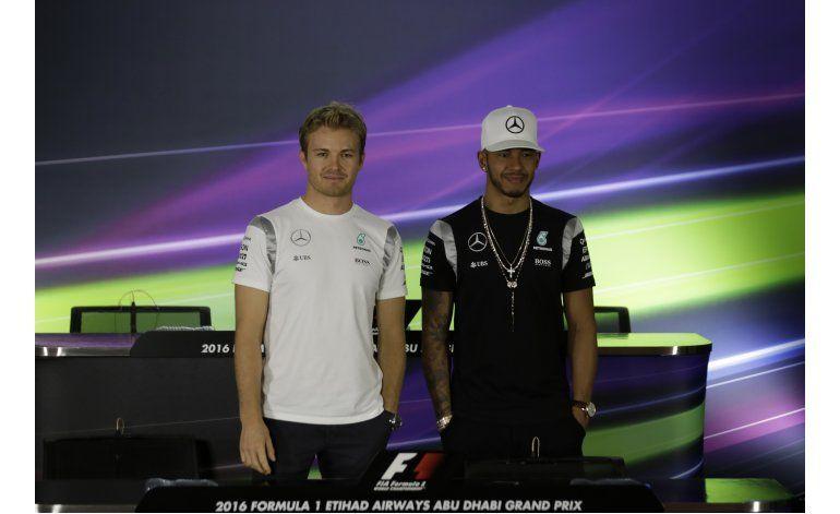 Hamilton y Rosberg listos para definir el cetro de F1