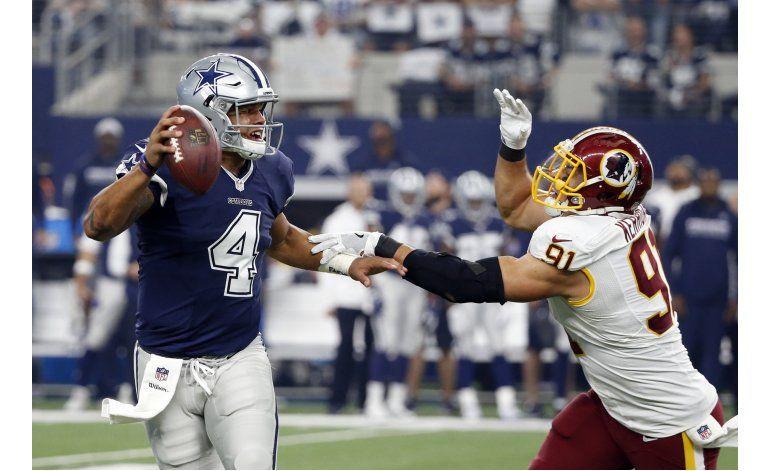 Novatos guían 10ma victoria seguida de Cowboys