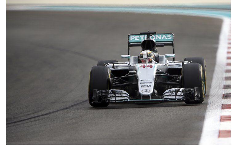 Hamilton domina primeras dos sesiones para GP de Abu Dabi