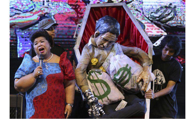Filipinas: Protestan por el entierro de Ferdinand Marcos