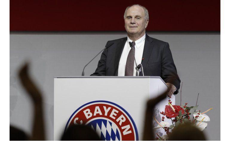 Hoeness regresa al mando del Bayern tras salir de prisión