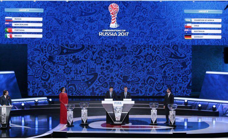 Confederaciones: Chile vs Alemania y México ante anfitrión