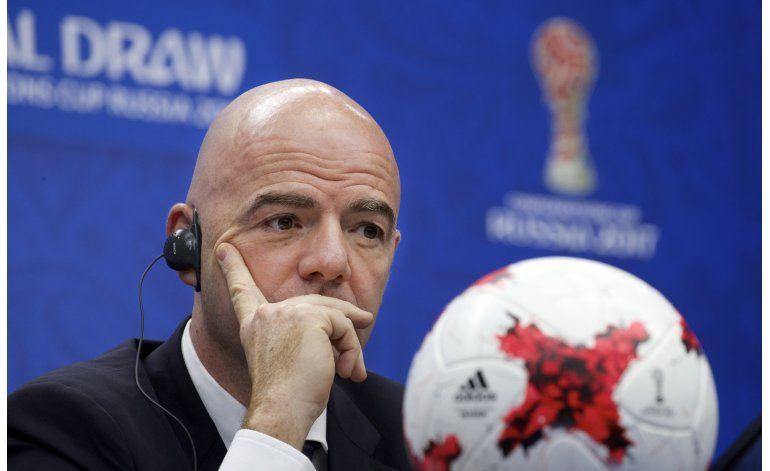 Infantino: Copa Confederaciones tiene un futuro incierto