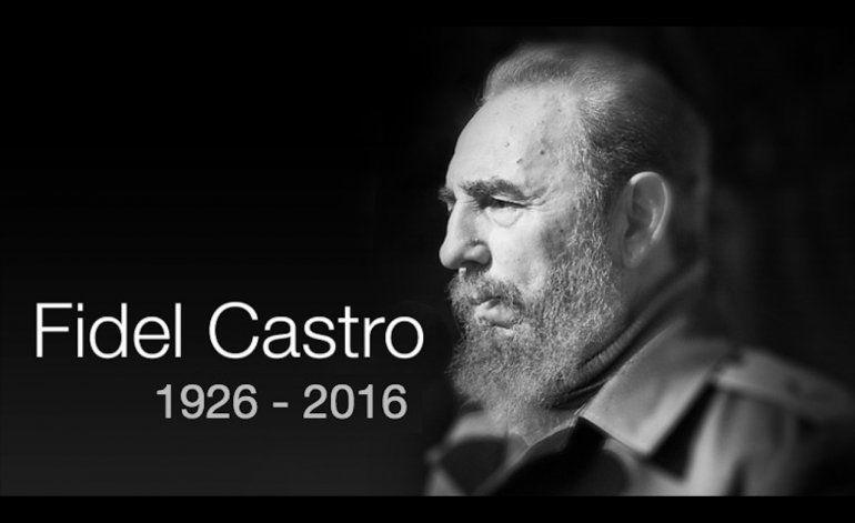Murió el dictador Fidel Castro