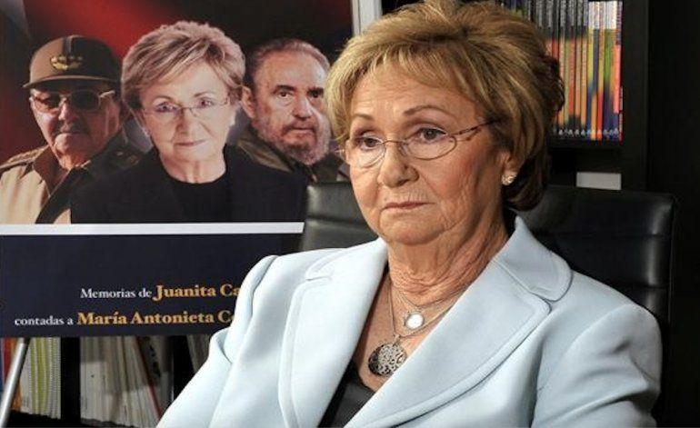 Hermana de Fidel Castro en Miami dice que no acudirá al  funeral en Cuba