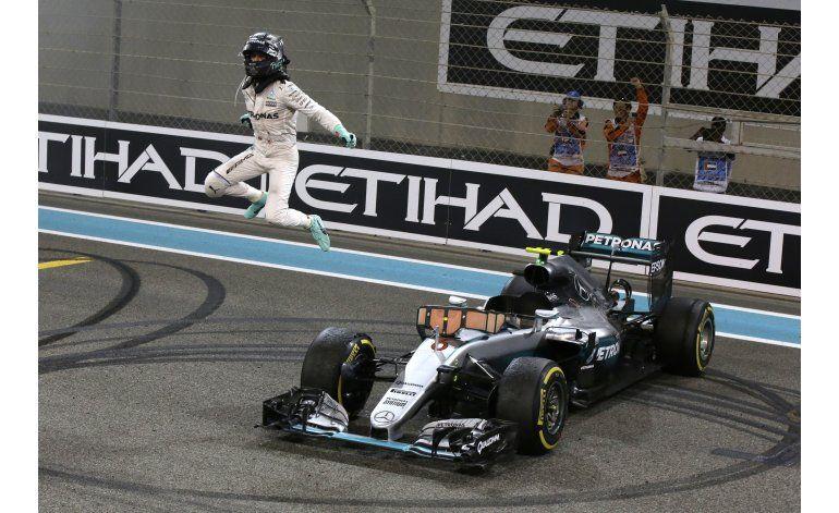 Rosberg gana su primer título de F1 en GP de Abu Dabi