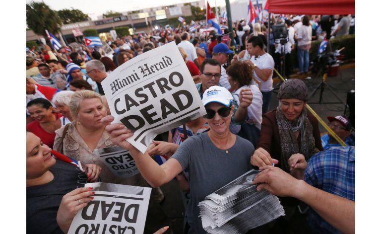 Festejos en Miami por muerte de Castro dan paso a reflexión