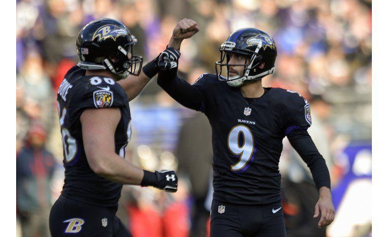Ravens superan a Bengals y comparten la punta divisional