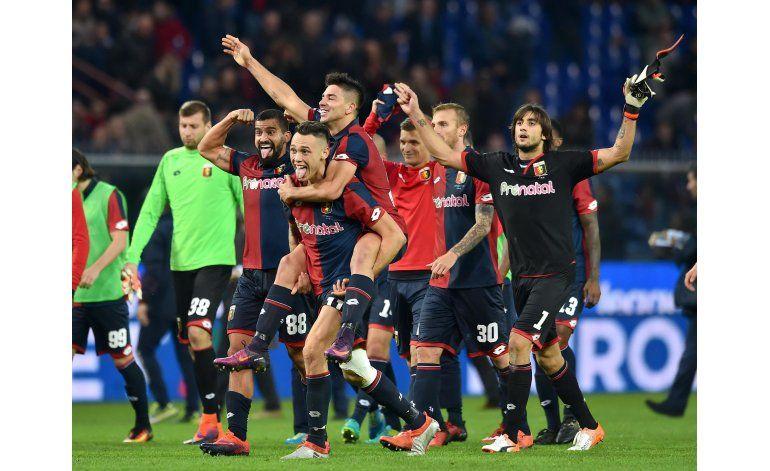 Giovanni Simeone y Genoa amargan al líder Juventus
