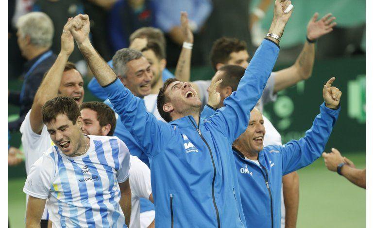 Argentina conquista su primera Copa Davis