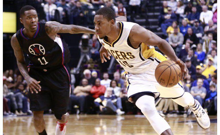 Pacers vencen a Clippers, que sufren 2da derrota seguida