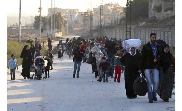 Colapsan defensas rebeldes en la parte oriental de Alepo