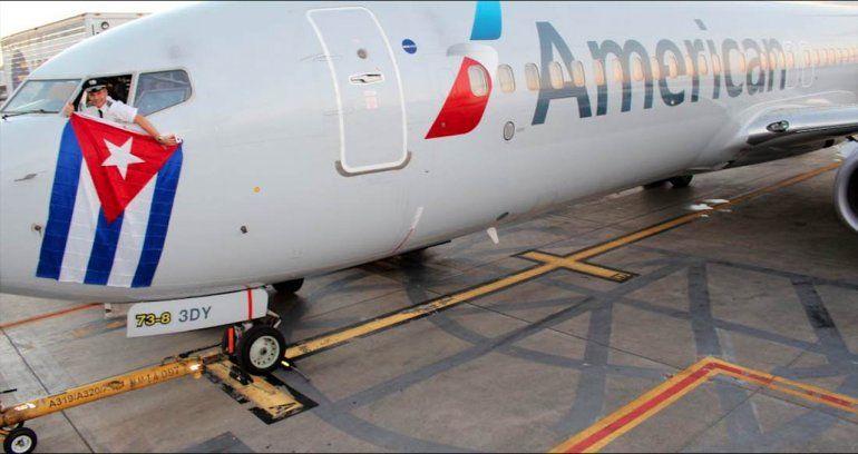 American Airlines pide flexibilidad para compensar baja de pasajes a Cuba