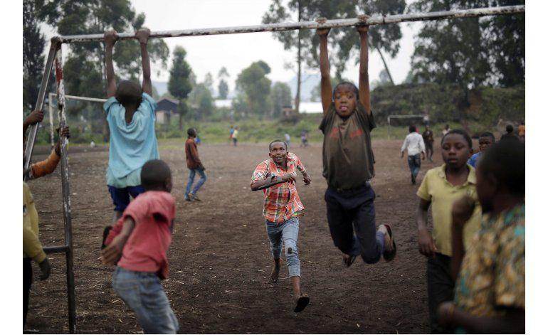 Violencia deja 4 millones de niños huérfanos en el Congo
