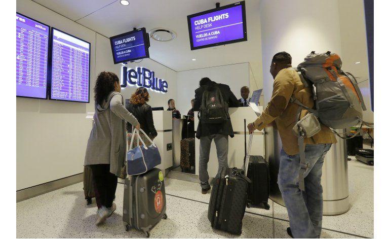 Primer vuelo regular de EEUU a La Habana en medio siglo
