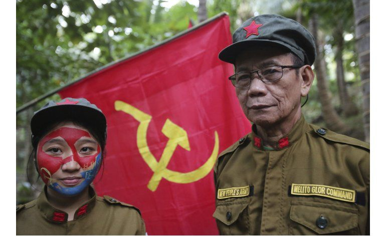 Pobreza y desesperación mantiene viva guerrilla filipina