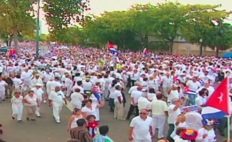 Cubanos en Miami se preparan para una de las concentraciones más grandes del exilio