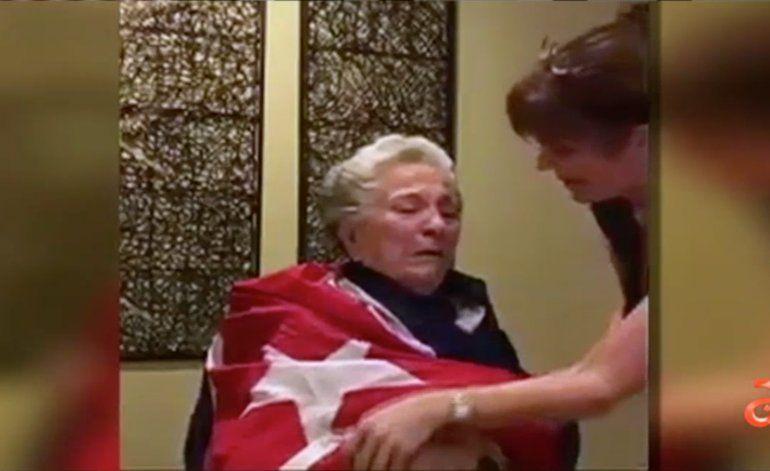 Así reaccionó esta abuela con alzhéimer a la muerte de Fidel Castro