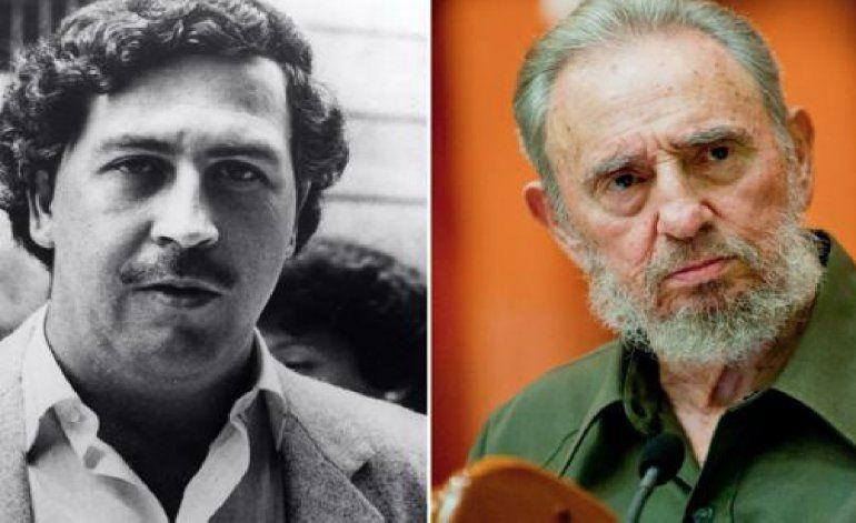 La historia secreta sobre la relación entre Fidel Castro y Pablo Escobar